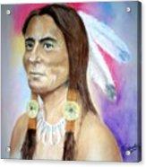 Sitting Bull Acrylic Print
