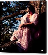 Sitting In A Tree Acrylic Print