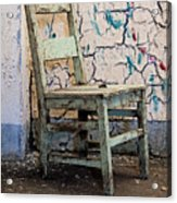 Sitting In Candyland Acrylic Print