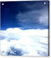 Sitting In The Clouds Acrylic Print