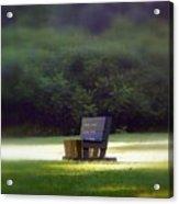 Sitting In The Sun Acrylic Print