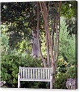 Sitting Under The Tree Acrylic Print