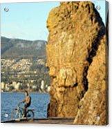 Siwash Rock Stanley Park II Acrylic Print