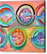 Six American Icons Acrylic Print