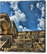 Six And A Half Steps From The Top Acrylic Print