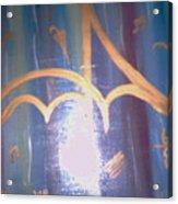 Six Eight Singing In The Rain Acrylic Print by Alanna Hug-McAnnally