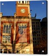 Six-fifteen At City Hall Acrylic Print