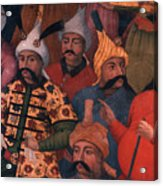 Six Sultans Acrylic Print