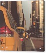 Sixth Avenue Acrylic Print