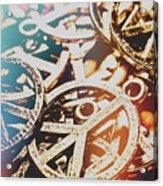 Sixties Peace Revolution Acrylic Print