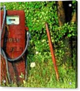 Sixty Six Cents A Gallon Acrylic Print