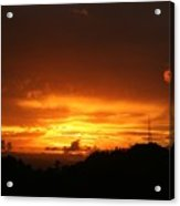 Sizzling Sunset Acrylic Print