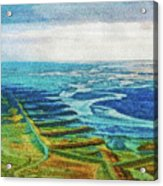 Skaftafell Floodplain Acrylic Print