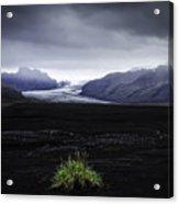 Skaftafellsjokull Glacier Acrylic Print