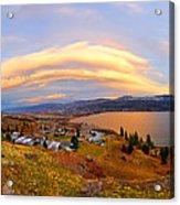 Skaha Sunset Acrylic Print