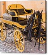 Skansen Carriage Acrylic Print