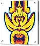 Skate Worrior Mask Acrylic Print