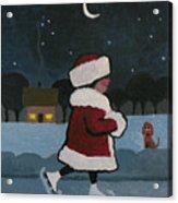 Skating at Night Acrylic Print