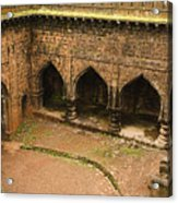 Skc 3278 Ancient Courtyard Acrylic Print