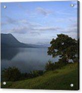 Skc 3959 Overlooking The Lake Acrylic Print