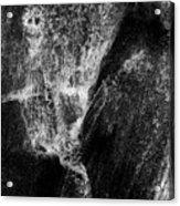 Skeleton And Goblin Water Rock Acrylic Print
