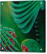 Skeleton Charm Acrylic Print