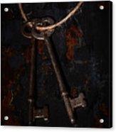 Skeleton Keys Acrylic Print