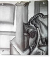 Sketchy Acrylic Print