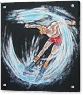 Ski Bum Acrylic Print