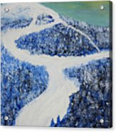 Ski Dream Acrylic Print