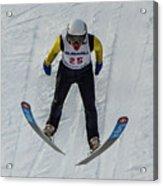 Ski Jumper 3 Acrylic Print