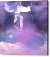 Ski Kachina Bowl Taos New Mexico Acrylic Print