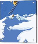 Sky Skier Acrylic Print