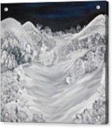 Ski Slope Acrylic Print