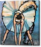Skinny Ballerina. Acrylic Print