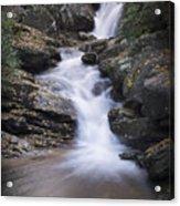 Skinny Dip Falls - Blue Ridge Mountains Acrylic Print