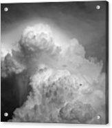 Skirting The Storm Acrylic Print