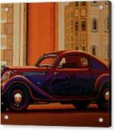 Skoda Popular Sport Monte Carlo 1935 Painting Acrylic Print
