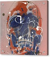 Skull #6 Acrylic Print