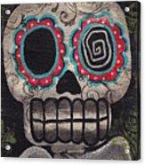 Skull Angel Acrylic Print