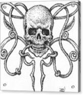Skull Design Acrylic Print