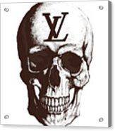 Skull Lv Braun Acrylic Print