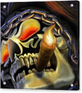 Skull Project Acrylic Print