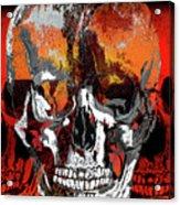 Skull Times Three Larger Size Acrylic Print