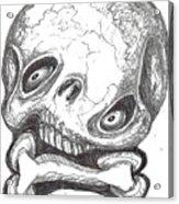 Skullnbone Twisted Acrylic Print