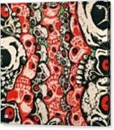 Skulls Infinate Acrylic Print