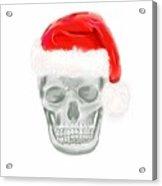 Skully Santa Acrylic Print