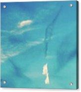Sky Abstract-casco Bay Acrylic Print