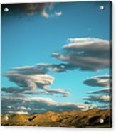 Sky And Clouds Garuda Valley Tibet Yantra.lv Acrylic Print