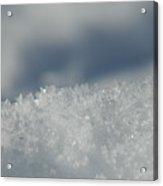 Sky And Ice Acrylic Print